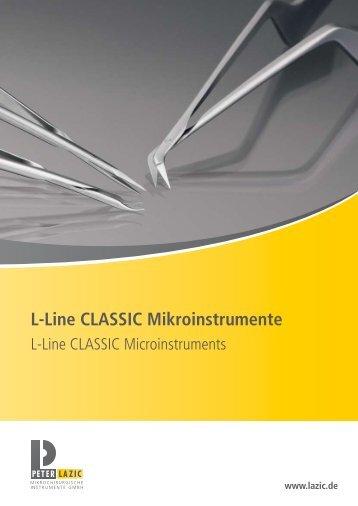 L-Line cLassic Mikroinstrumente - WM-Medizintechnik GmbH