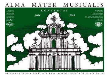 2004-2005 m. AMM bukletas - Lmrf.lt