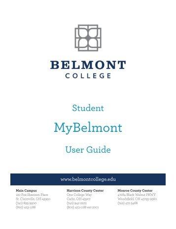 Login to MyBelmont - Belmont College