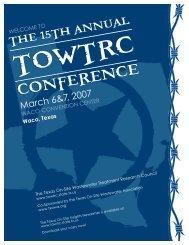 Program_2007:Layout 1.qxd - Texas Onsite Wastewater Association