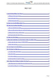 Báo cáo thường niên năm 2009 - Masan Group