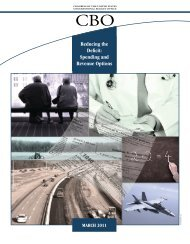 """""""Reducing the Deficit: Spending and Revenue Options,"""" March 2011"""