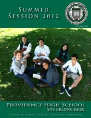 Summer Session 2012 - Providence High School