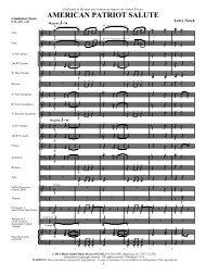 American Patriot Suite_00 score - Music Ruh