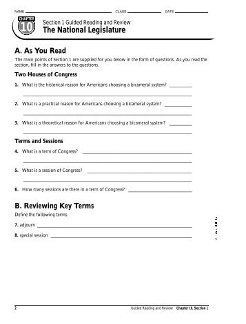 name class date section 3 rh yumpu com section 2 guided reading and review committees in congress answers Button Answers Review