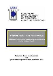 BUENAS PRÁCTICAS ANTIFRAUDE - Eurorai.org