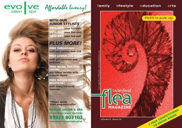 Family Lifestyle Education Arts - Watford flea magazine