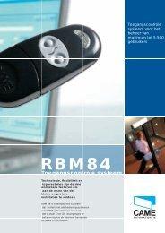 Systeem RBM84 - Came