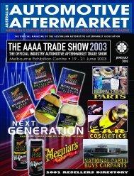 Melbourne Exhibition Centre • 19 - Australian Automotive ...