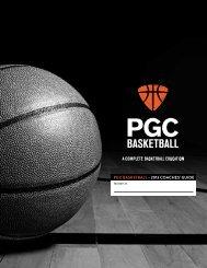 Coaches Welcome Booklet - PGC Basketball