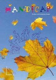 Ausgabe 13 K ostenlos - Handicap
