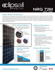 NRG 72 M Series - Eclipsall