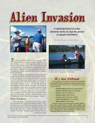 Alien Invasion - New Hampshire Fish and Game Department