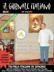 """ADOLFO: il cliente """"es nuestro pan de cada día ... - Il Giornale Italiano"""