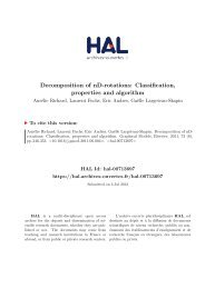Decomposition of nD-rotations: classification, properties and algorithm