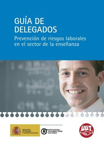 Guía del delegado de prevención en el sector - FETE-UGT