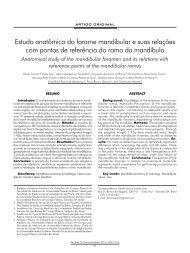 Estudo anatômico do forame mandibular e suas relações ... - ABCCMF