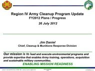 ARMY – Active Sites Update – 26 Jul 12