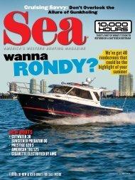 Cutwater 30 test in Sea Magazine - Cutwater Boats