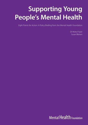 Supporting Young People's Mental Health - Social Welfare Portal