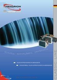 Download: CLASSIC LINE Katalog - Kendrion Binder