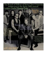 *Winter 2001 Magazine CR - Webpages at SCU - Santa Clara ...