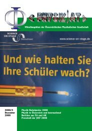 Physik iNTerNATioNAl - Austrian Physical Society
