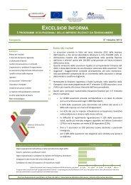 EXCELSIOR INFORMA - Unioncamere Campania