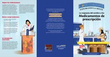 Medicamentos de prescripciÓn - National Institute on Drug Abuse