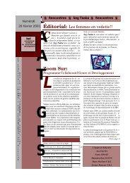 Volume 2001 - n°6 - IED afrique