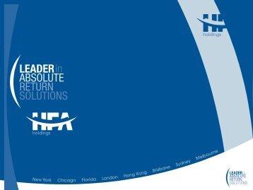 HFA Asset Management & Lighthouse Investment Partners July ...