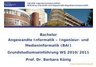 und Medieninformatik - an der Universität Duisburg-Essen