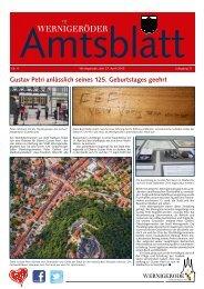Amtsblatt Stadt Wernigerode 04 - 2013 (7.05 MB)