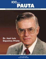 Palabras en Homenaje al Dr. José Luis Siqueiros Prieto - ICC México