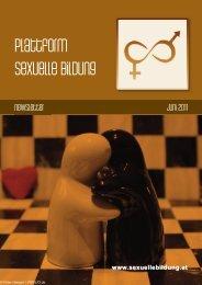 Newsletter Juni 2011 - Plattform sexuelle Bildung