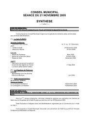 SYNTHESE - Mandelieu La Napoule
