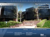 Bay Corporate Plaza - Voit Real Estate Services