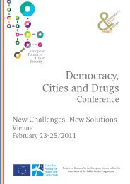 A Conference for Action - Democracy, Cities & Drugs II