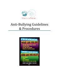 Macra na Feirme Anti-Bullying Guidelines & Procedures