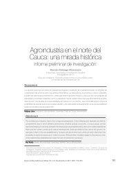 Agroindustria en el norte del Cauca: una mirada histórica