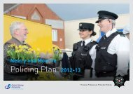 Newry & Mourne Policing Plan 2012 / 13