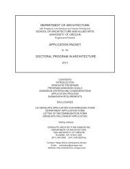 Download - Department of Architecture - University of Oregon