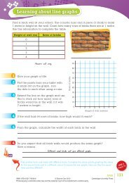 SAB Year 6 Answers p121 - Cambridge University Press