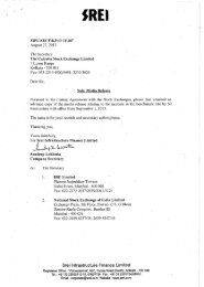 Media Release - Advance Intimation on 27.08.2013 - Srei ...