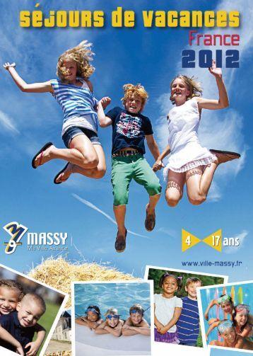 CATALOGUE SEJOURS 2012 FRANCE_Mise en page 1 - Massy