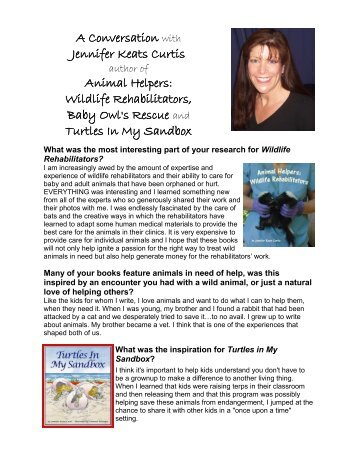 author interview - Sylvan Dell Publishing