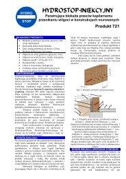 Hydrostop - Mieszanka Profesjonalna Instrukcja Techniczna