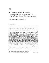 98 A Characteristic Domain Decomposition Algorithm for Two-Phase ...