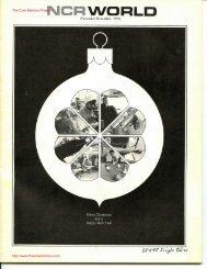 NCR World November - December 1970. - The Core Memory