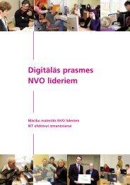Digitālās prasmes NVO līderiem - Latvija@Pasaule
